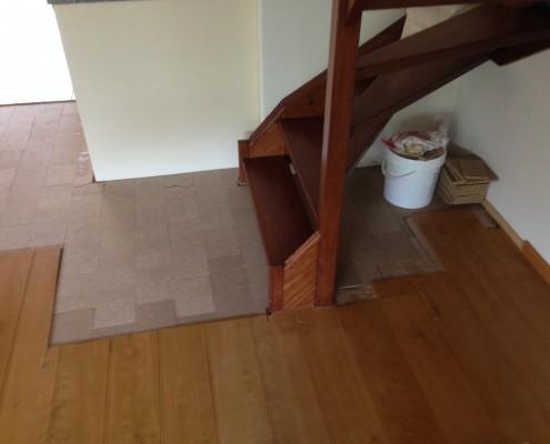 reparatie Eiken vloer 2